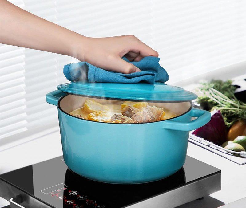 Miętowe garnki dla ożywienia kuchni