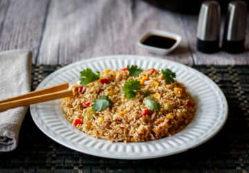 Wegetariańskie risotto z curry