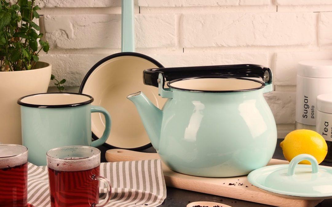 Jak zaparzyć herbatę w imbryku emaliowanym?