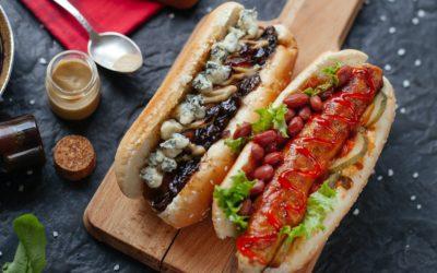 Domowe bułki do hot doga